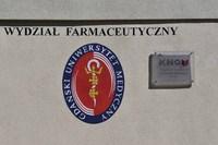 Wydział Farmaceutyczny z Oddziałem Medycyny Laboratoryjnej jest jednym z Krajowych Naukowych Ośrodków Wiodących