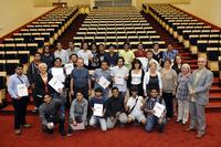 Wręczenie dyplomów ukończenia English Langugage Course