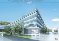 Wizualizacja Centrum Medycyny Nieinwazyjnej (projekt)
