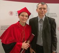 dr hab. Małgorzata Waleron oraz dr hab. Krzysztof Waleron