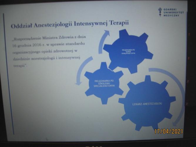 Spotkanie na temat pielęgniarstwa anestezjologicznego